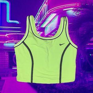 Super cute neon Nike crop!!